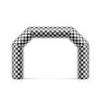 inflatable finish line arch inflatable archway vector image vector image