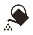 watering can symbol vector image vector image