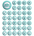 Web icons big set vector image vector image