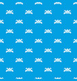 welding tool pattern seamless blue vector image vector image