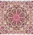 seamless pattern with bright floral vector image