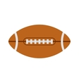 American football rugby ball vector image vector image