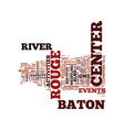 baton rouge sports radio text background word vector image vector image