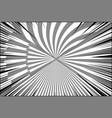comic duel monochrome background vector image vector image
