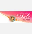 decorative rakhi wristband sale banner for raksha