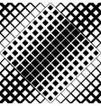 geometrical seamless monochrome diagonal square vector image vector image