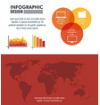 infographic technology design vector image