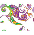 mardi gras seamless line marble pattern vector image vector image