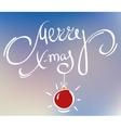 merry xmas doodle vector image vector image