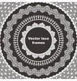 set lace frames vector image vector image