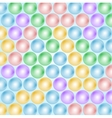 Abstract balls background vector image
