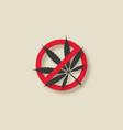 cannabis marijuana leaf stop sign vector image