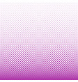 geometrical halftone square pattern background vector image vector image