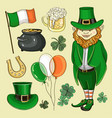 happy stpatricks day vector image