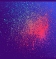 neon explosion paint splatter artistic template vector image