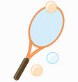racket for tennis vector image