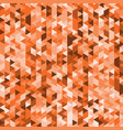 abstract background with geometry orange backdrop vector image vector image