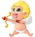 beautiful Cupid to the holiday vector image