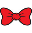 bow ties collection design vector image vector image