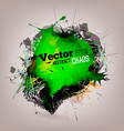 Chaotic Abstract Background vector image vector image