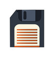 diskette or floppy disk icon image vector image vector image
