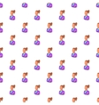 Language translator pattern cartoon style vector image