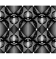 Black and white abstract seamless pattern with vector image vector image