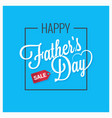 fathers day card happy family vector image vector image