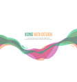 header website abstract design colorful style vector image vector image