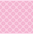 seamless pattern with pink dots on a sweet pastel vector image