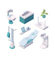 stomatology professional healthy medical vector image vector image