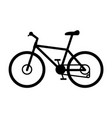 trail mountain road bike vector image vector image