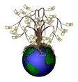 money tree vector image