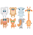 cartoons animals vector image