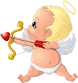 beautiful Cupid to the holiday vector image vector image