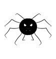 cartoon image of a spider isolated object vector image vector image