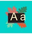 flat icon on stylish background education vector image vector image