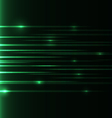 green-speed-laser vector image vector image
