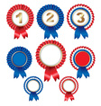 Rosette Ribbons vector image vector image