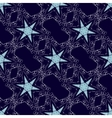 Seamless stars pattern vector image vector image
