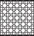 abstract cross pattern background - geometric vector image vector image