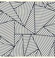 geometric design seamless pattern vector image vector image