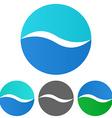 Wave Logo Set vector image vector image