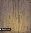 Wooden background for your design vector image vector image