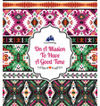 american tribal seamless pattern vector image