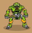 Cartoon Robot vector image vector image