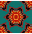colorful bohemian pattern with stylized vector image vector image