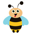 cute honeybee or color vector image vector image