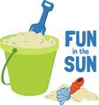 Fun In The Sun vector image vector image