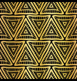 Golden triangle seamless pattern boho